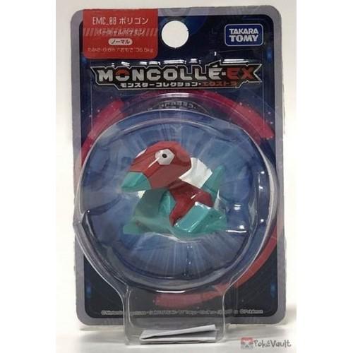 "Pokemon 2018 Porygon Tomy 2"" Monster Collection Moncolle EX Plastic Figure EMC-08"