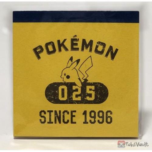 Pokemon Center 2016 College Logo Campaign Pikachu Memo Pad