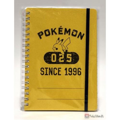Pokemon Center 2016 College Logo Campaign Pikachu Spiral Notebook