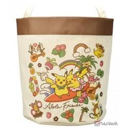Pokemon Center 2016 Alola Friends Pikachu Oricorio Alolan Raichu & Friends Storage Basket