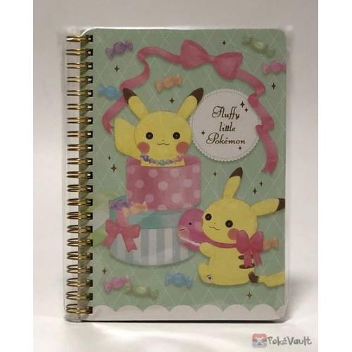 Pokemon Center 2019 Fluffy Little Pokemon Pikachu Spiral Notebook