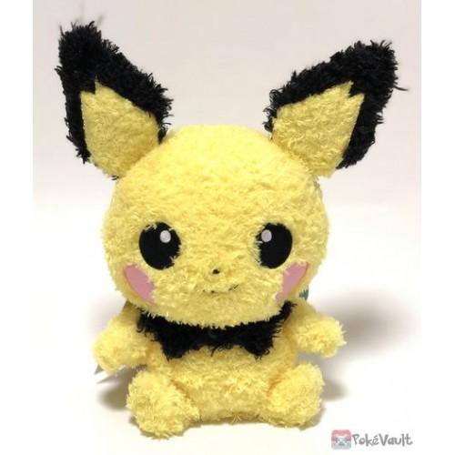 Pokemon 2018 Sekiguchi Pichu Fluffy Plush Toy
