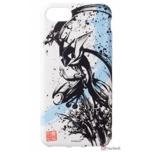 Pokemon Center 2019 Sumi-E Retsuden Japanese Ink Art Campaign Greninja iPhone 6/6s/7/8 Mobile Phone Soft Cover