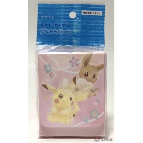 Pokemon Center 2019 Pikachu Eevee Jewel Large Size Deck Box