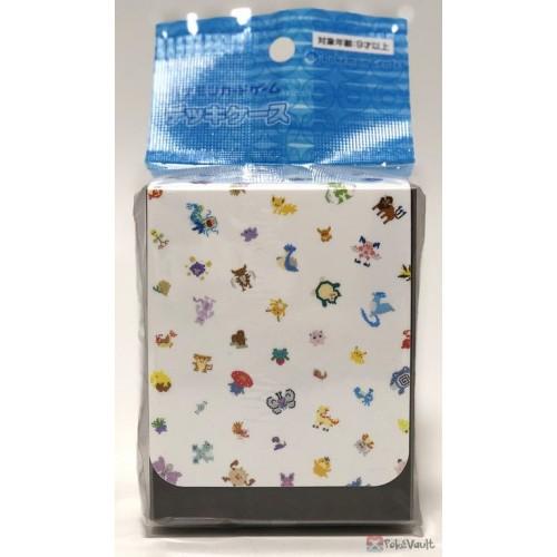 Pokemon Center 2019 Dot Sprite Butterfree Lapras Snorlax & Friends Large Size Deck Box