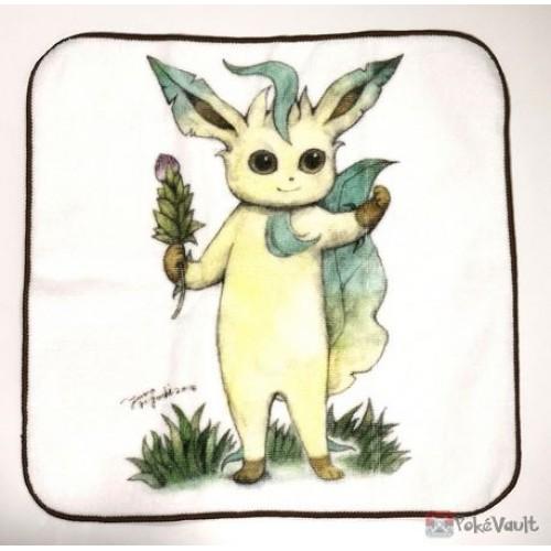 Pokemon Center 2018 EVS + Cafe Campaign Leafeon Mini Hand Towel