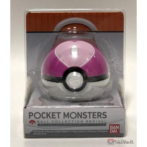 Pokemon 2019 Bandai Pokeball Collection Revival Series Love Ball Candy Dispenser
