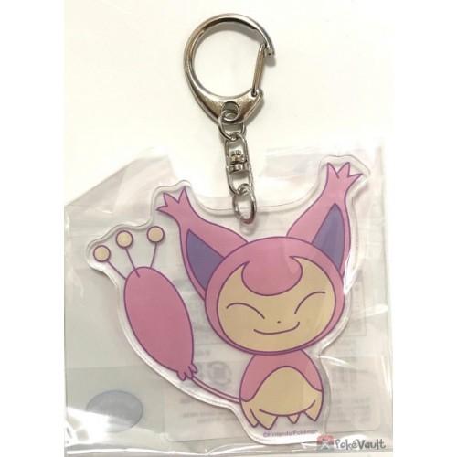 Pokemon Center 2019 Skitty Acrylic Plastic Character Keychain