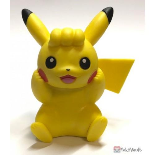 Pokemon 2019 Takara Tomy Let's Go Pikachu & Eevee Series Pikachu Stand Figure (Version #5 Fluffy Hair)