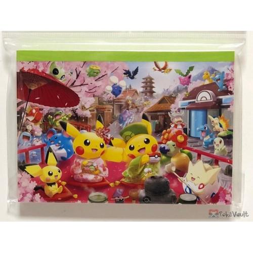 Pokemon Center Kyoto 2019 Renewal Opening Campaign Pikachu Pichu Togepi & Friends Memo Pad