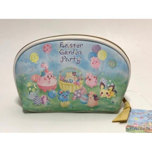 Pokemon Center 2019 Easter Garden Party Campaign Pikachu Eevee Minun Plusle & Friends Pouch