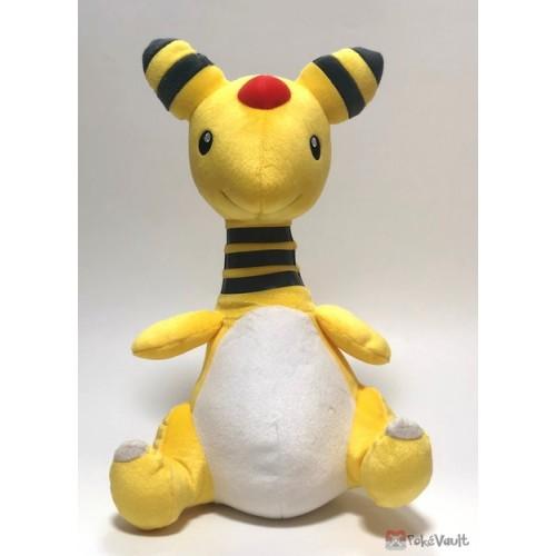 Pokemon 2019 Banpresto UFO Game Catcher Prize Ampharos Extra Large Size Plush Toy