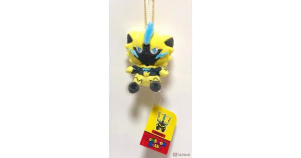 Pokemon Center Original Motchiri mascot Pokemon Dolls Zeraora fromJAPAN