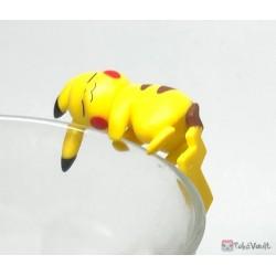 Pokemon Center 2019 Putitto Eevee & Pikachu Version Pikachu Cup Ornament Gashapon Figure (Version #2 Sleeping)