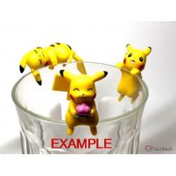 Pokemon Center 2019 Putitto Eevee & Pikachu Version Pikachu Cup Ornament Gashapon Figure (Version #3 Fruit)