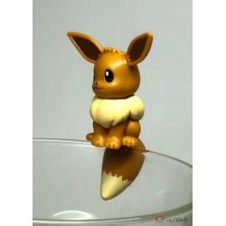 Pokemon Center 2019 Putitto Eevee & Pikachu Version Eevee Cup Ornament Gashapon Figure (Version #1 Normal)