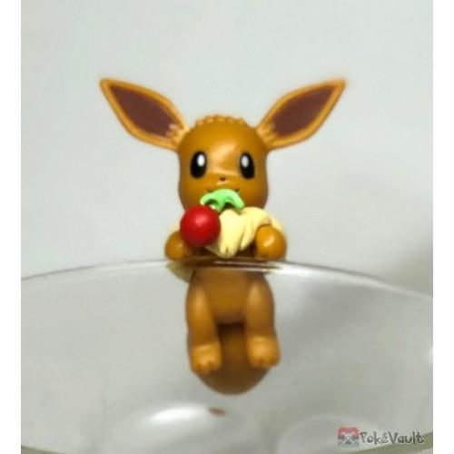 Pokemon Center 2019 Putitto Eevee & Pikachu Version Eevee Cup Ornament Gashapon Figure (Version #3 Fruit)