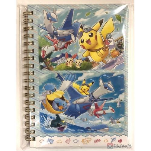 Pokemon Center 2019 Flying With Latias & Latios Campaign Poochyena Jirachi Spiral Notebook