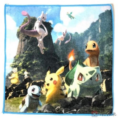 Pokemon Center 2019 Mewtwo & Mew Campaign Bulbasaur Charmander & Friends Mini Hand Towel