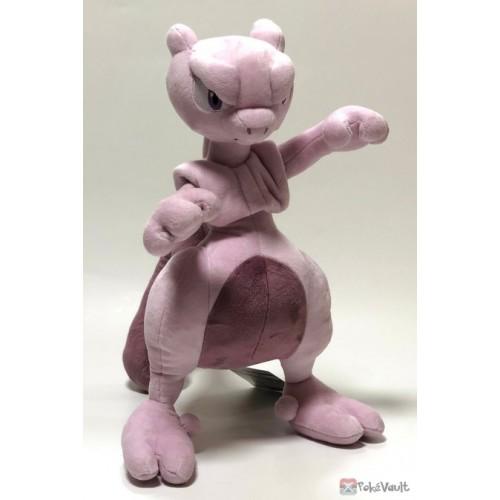 Pokemon Center 2019 Mewtwo & Mew Campaign Mewtwo Large Size Plush Toy