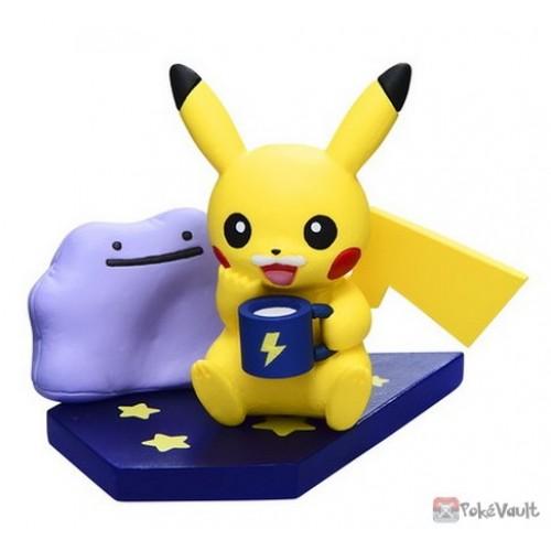 Pokemon Center 2019 Pikachu Night Parade Series Pikachu Ditto Figure (Version #4 Hot Milk)