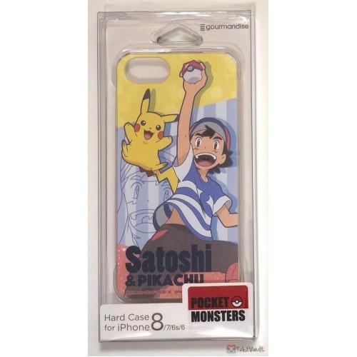 Pokemon Center 2019 Ash Ketchum Pikachu iPhone 6/6s/7/8 Mobile Phone Hard Cover