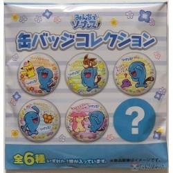 Pokemon Center 2019 Everyone Wobbuffet Campaign Wobbuffet Audino Large Size Metal Button (Version #5)