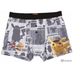 Pokemon Center 2019 Detective Pikachu Movie Mr. Mime Psyduck & Friends Underwear (Mens)