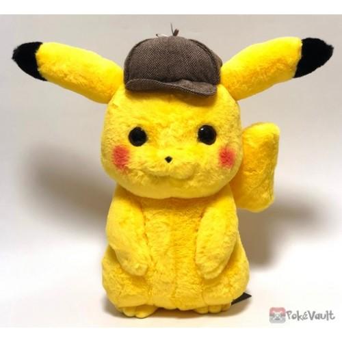 Pokemon Center Detective Pikachu Lifesize Plush Toy