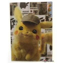 Pokemon Center 2019 Detective Pikachu Movie Arcanine Charizard Mewtwo & Friends A4 Size Clear File Folder