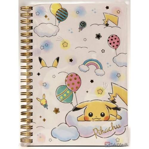 Pokemon Center 2019 Rainbow Pikachu & Eevee Campaign Pikachu Spiral Notebook