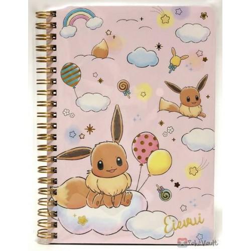 Pokemon Center 2019 Rainbow Pikachu & Eevee Campaign Eevee Spiral Notebook