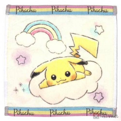 Pokemon Center 2019 Rainbow Pikachu & Eevee Campaign Pikachu Mini Hand Towel
