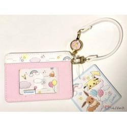 Pokemon Center 2019 Rainbow Pikachu & Eevee Campaign Eevee Train Pass Case