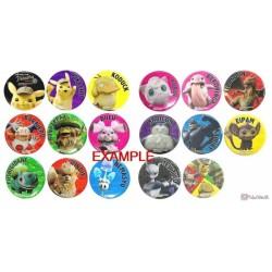 Pokemon Center 2019 Detective Pikachu Movie Morelull Metal Button (Version #15)
