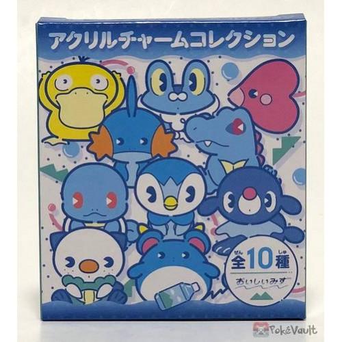 Pokemon Center 2019 Oishii Mizu Campaign RANDOM Acrylic Plastic Character Keychain