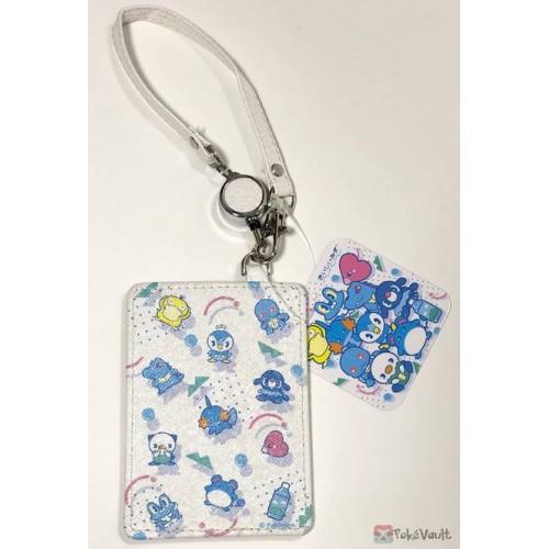 Pokemon Center 2019 Oishii Mizu Campaign Mudkip Froakie Psyduck & Friends Train Pass Case