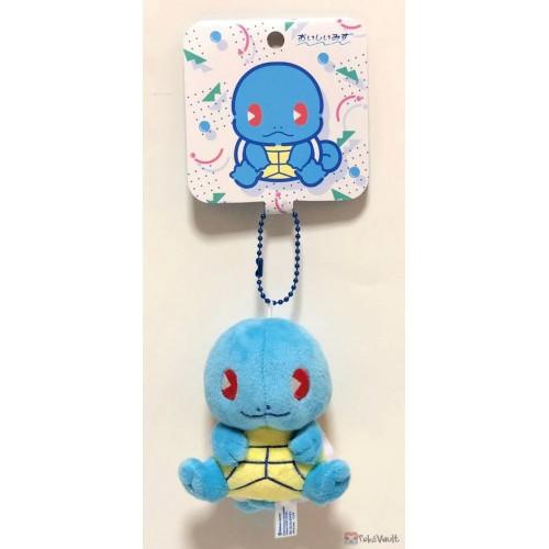 Pokemon Center 2019 Oishii Mizu Campaign Squirtle Small Mascot Plush Keychain