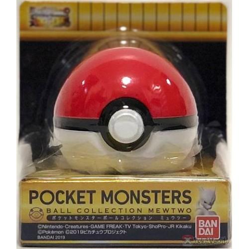 Pokemon 2019 Bandai Pokeball Collection Mewtwo Series Pokeball Candy Dispenser