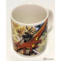 Pokemon Center 2019 Pokemon EX Drawing - Yusuke Murata Campaign Charizard Ultra Necrozma & Friends Ceramic Mug