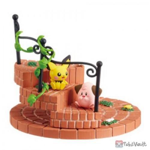 Pokemon Center 2019 Re-Ment Pokemon's Steps Pichu & Cleffa Figure (Version #4)