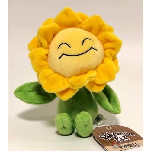 Pokemon Center 2019 Pokemon Fit Series #3 Sunflora Small Plush Toy