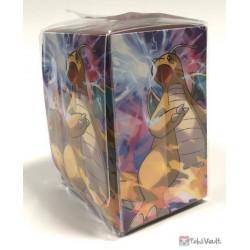 Pokemon Center 2019 SM#11 Miracle Twins Special Set Lance Dragonite Large Size Deck Box