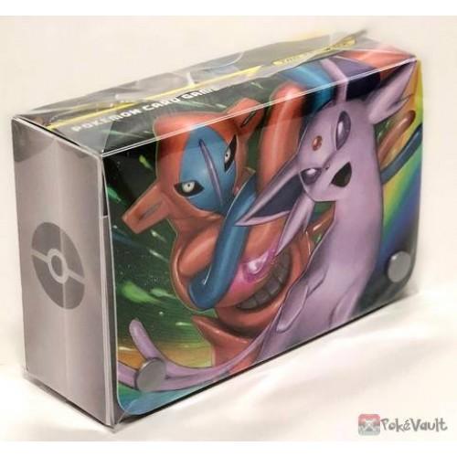 Pokemon 2019 Starter Deluxe Set Espeon Deoxys Umbreon Darkrai Double Large Size Deck Deck Box