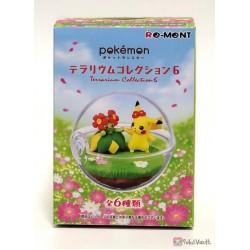 Pokemon Center 2019 Re-Ment Terrarium Collection Series #6 Bellossom Pikachu Figure (Version #1)