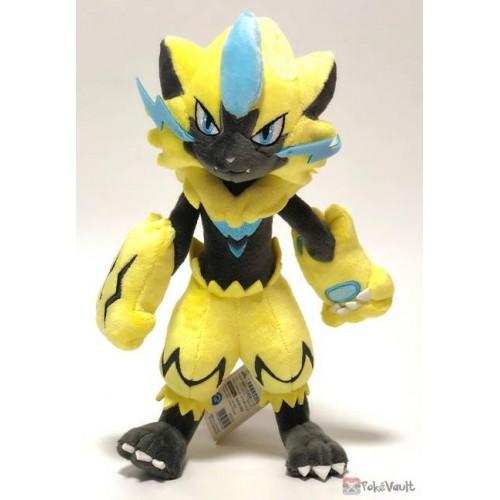 Pokemon 2019 San-Ei All Star Collection Zeraora Plush Toy