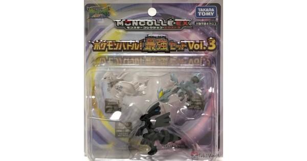 TAKARA TOMY Pokemon Moncolle Figure Pokemon Battle Strongest Set Vol.2 Japan