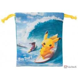 Pokemon Center 2019 Pokemon Surf Campaign Pikachu Alolan Raichu & Friends Small Size Drawstring Dice Bag