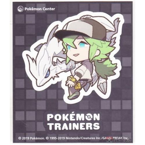 Pokemon Center 2019 Pokemon Trainers Campaign Trainer N Reshirsam Large Sticker