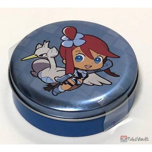 Pokemon Center 2019 Pokemon Trainers Campaign Skyla Swanna Candy Collector Tin